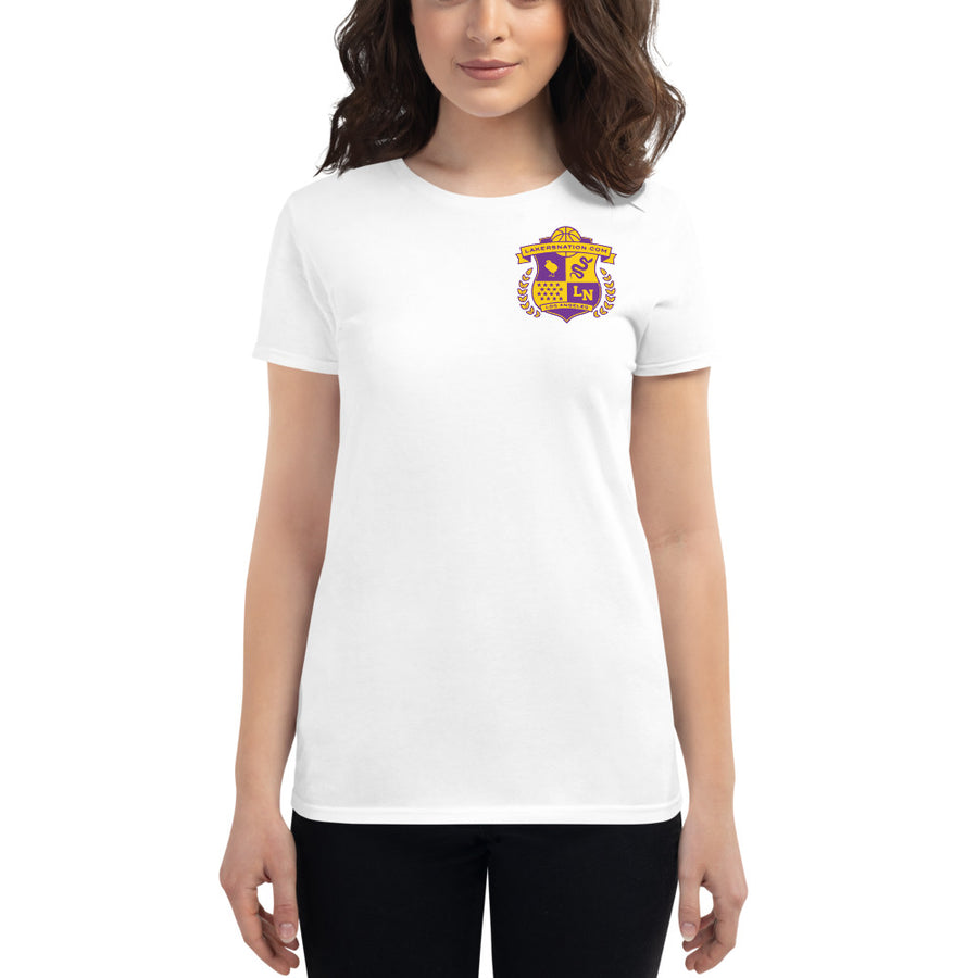 Lakersnation- Women's short sleeve t-shirt