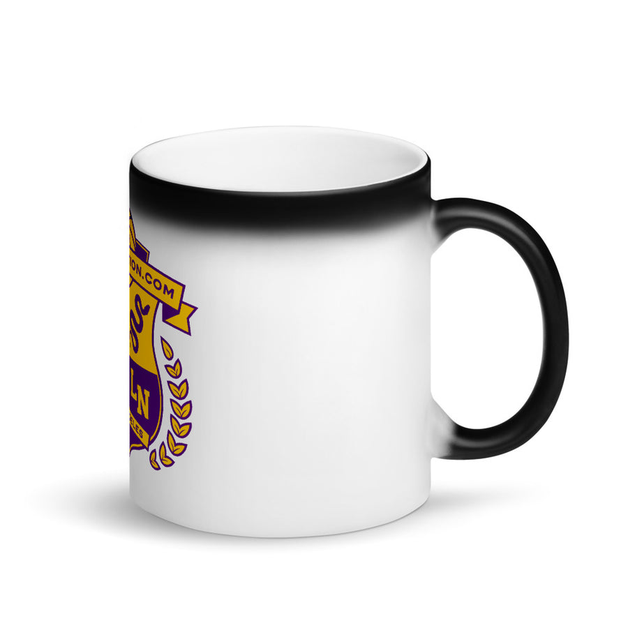 Lakersnation- Matte Black Magic Mug