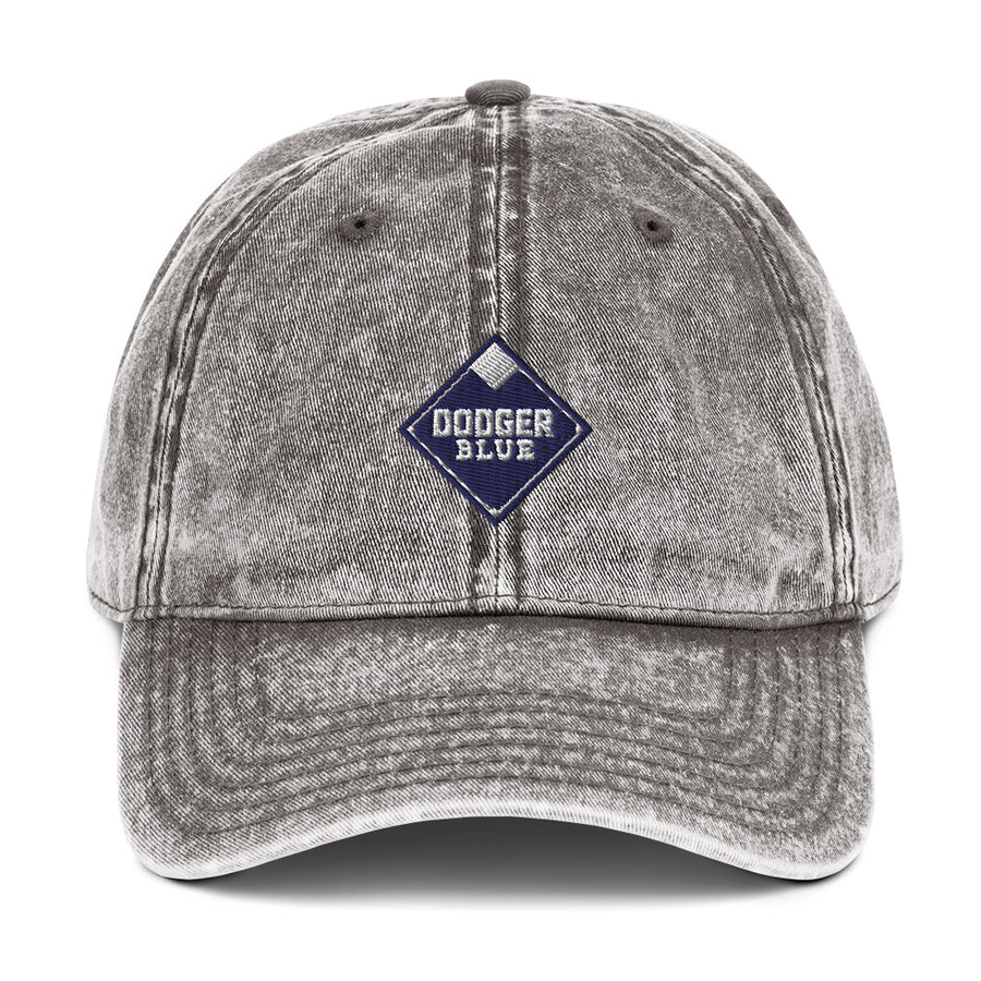 Dodger Blue Vintage Cotton Twill Cap