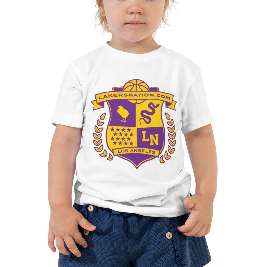 Lakersnation- Toddler Short Sleeve Tee