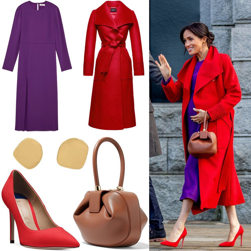 STEAL MEGHAN'S LOOK: RED AND PURPLE COLOR COMBO-Style Therapy