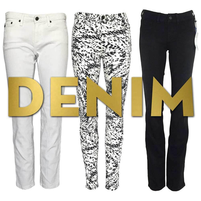 DENIM: BLACK, WHITE AND EVERYTHING IN BETWEEN-Style Therapy