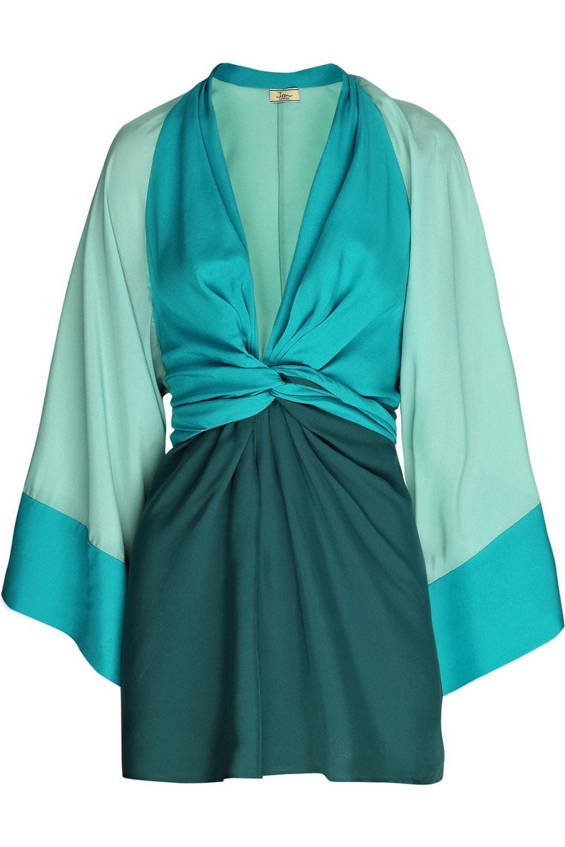 FEATURED: ISSA COLORBLOCK KIMONO DRESS-Style Therapy