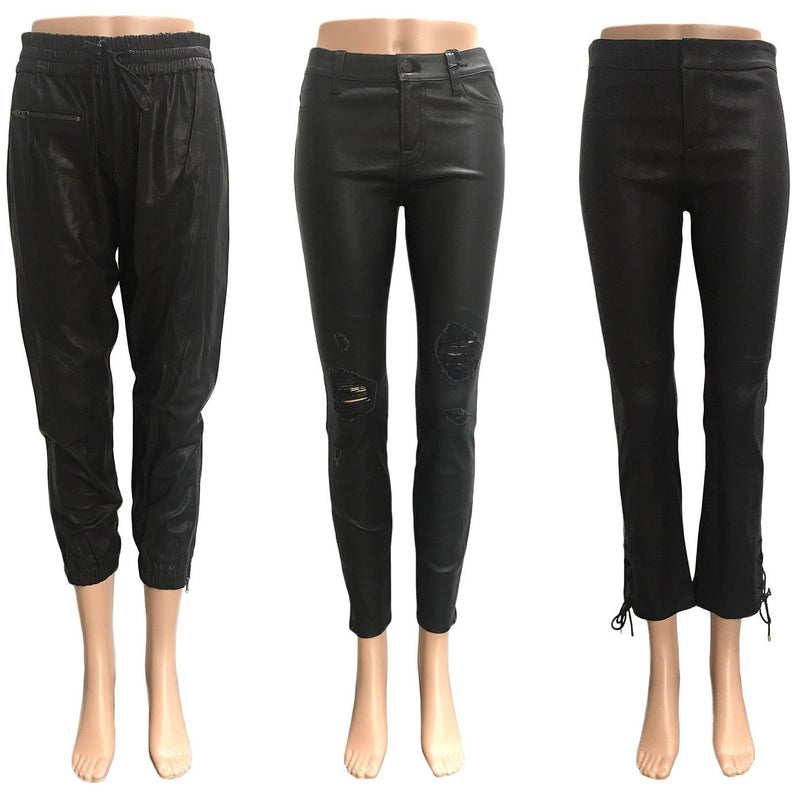 NEWLY ADDED: MUST-HAVE BLACK LEATHER PANTS-Style Therapy