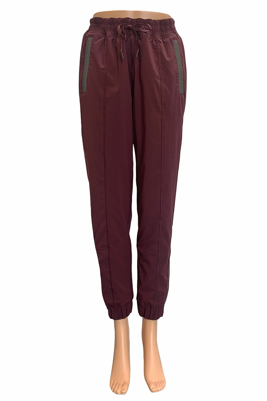 Lululemon Bordeaux Track to Reality II Athletic Pants / Sz 6
