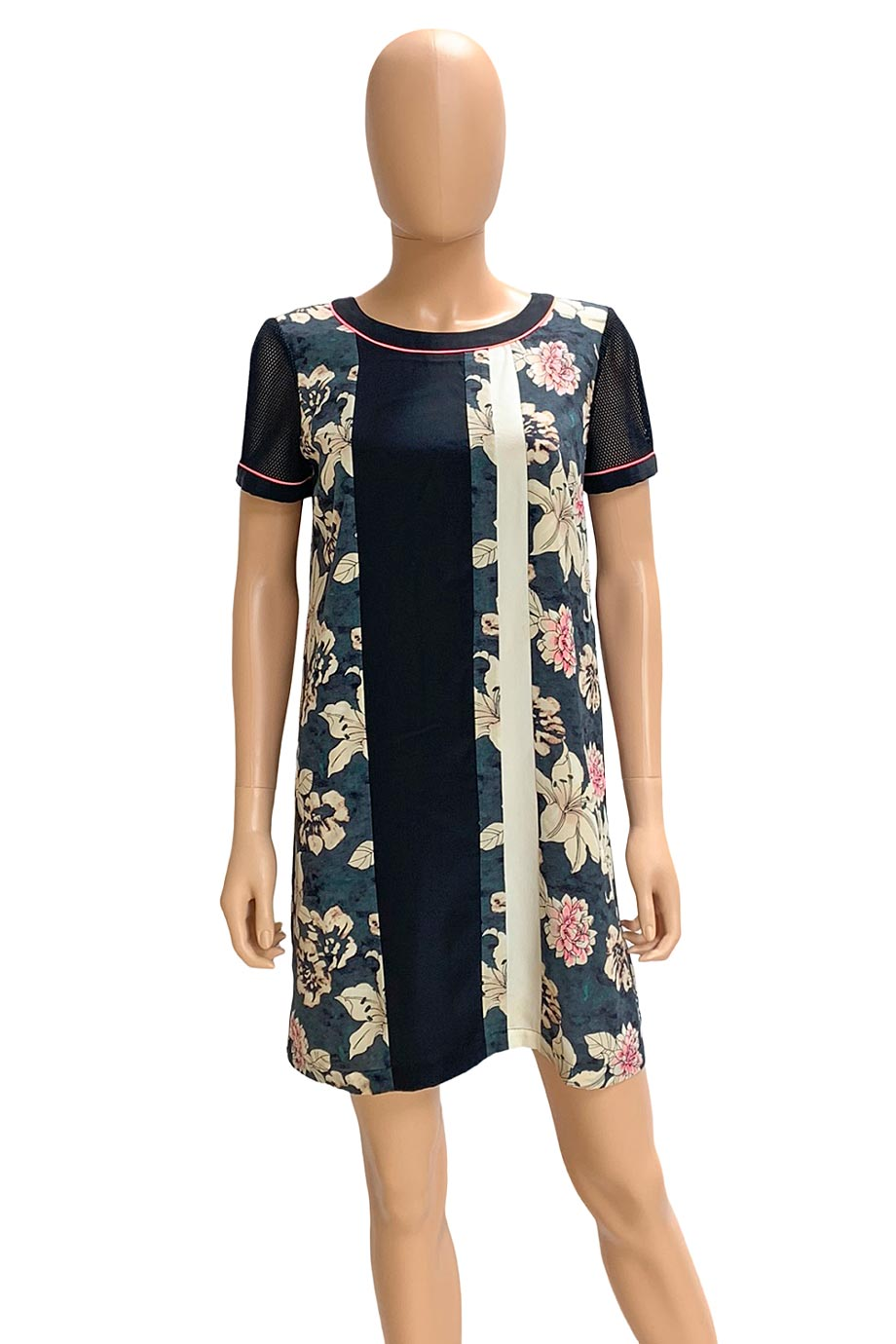 Elizabeth And James Silk Floral Montana Shift Dress / Sz S