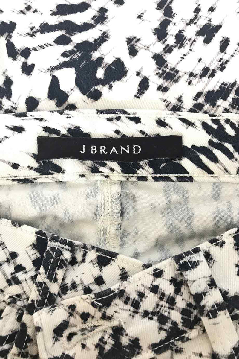 J Brand Graphic Black + White Print Super Skinny Jeans / Sz 28-Style Therapy