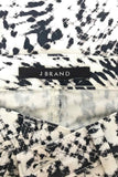 J Brand Graphic Black + White Print Super Skinny Jeans / Sz 28