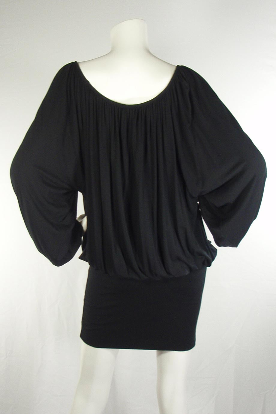 Rachel Pally Black Modal Jersey Knit Luella Mini Dress / Sz S - Style Therapy  - 2