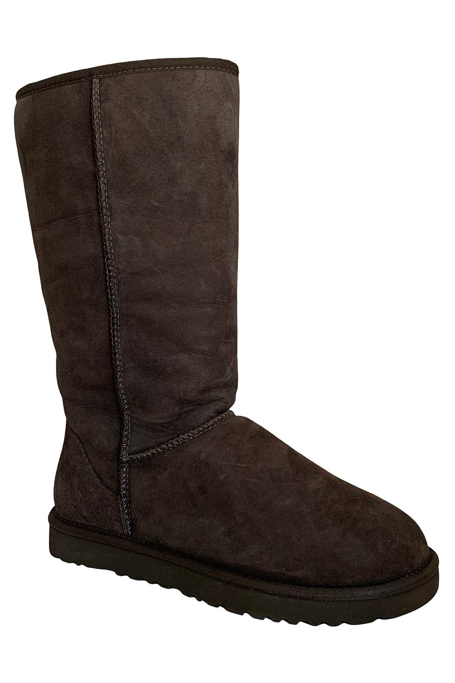 UGG Australia Chocolate Brown Sheepskin Classic Tall Boots / Sz 8