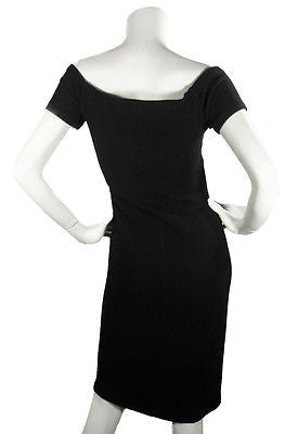 Charles Chang Lima Black Boucle Dress / Sz 4 - Style Therapy  - 3
