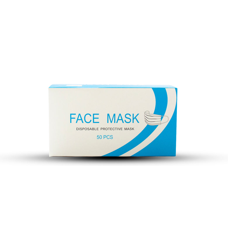 Disposable & Protective Masks - 50 Pieces