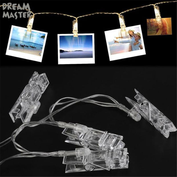Best lights Card Photo Clip Fairy Lights Wedding & Party Decoration