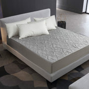 Swiss Comforts Embossed Solid Color Waterproof Mattress Sheet