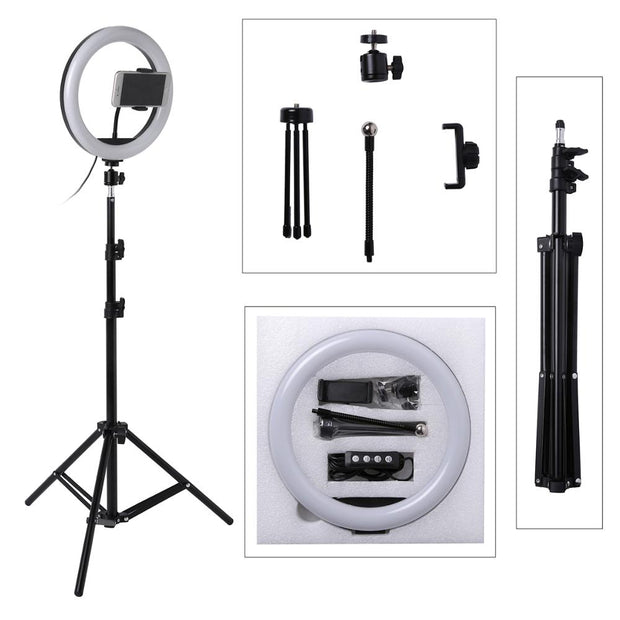 Best Photo LED Selfie Stick Ring Fill Light With Stand Online 2020