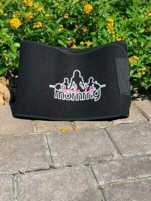 MOMMY SWEAT BELT | BLACK
