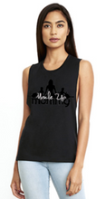 Load image into Gallery viewer, MUM CLASSIC MUSCLE TANK | BLACK & WHITE