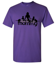Load image into Gallery viewer, MUM Classic Tee - Purple-Grey
