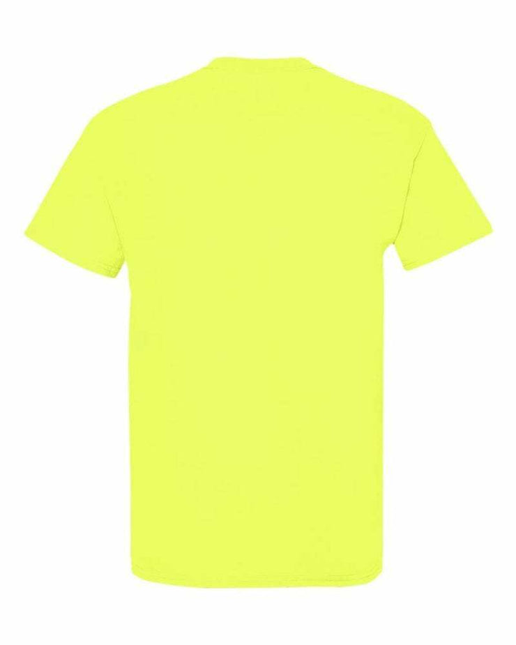 MUM CLASSIC TEE | SAFETY GREEN & AQUA