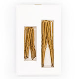 Frenchies Blonde Velvet Hairpins