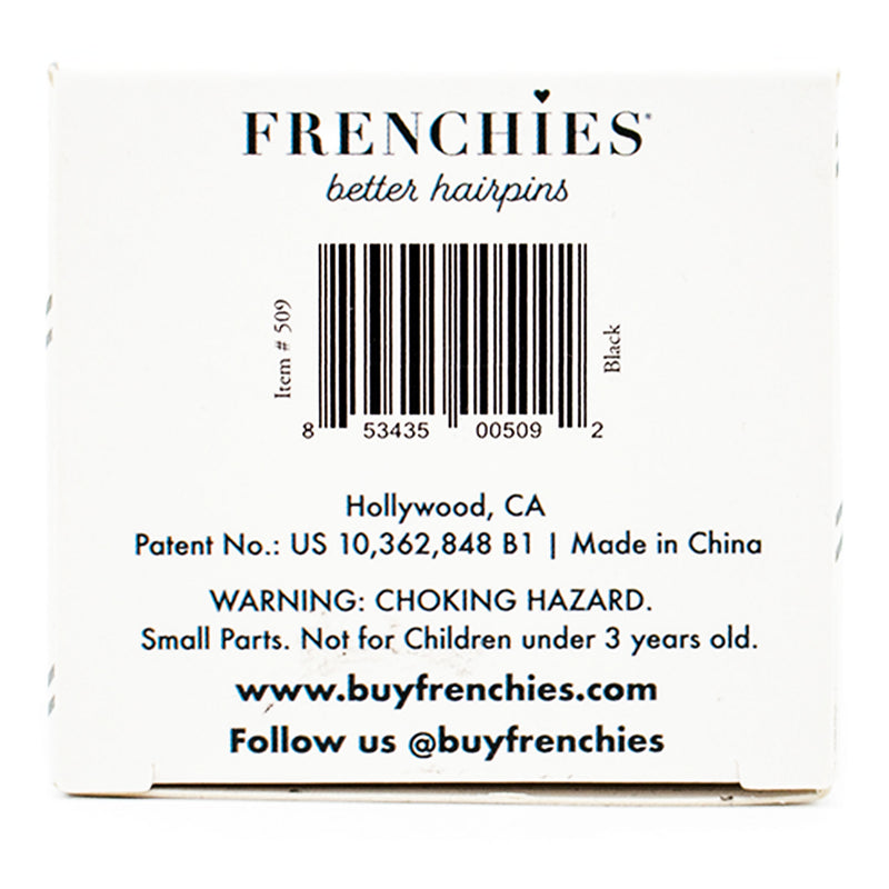 Frenchies Propack Black Small 2""