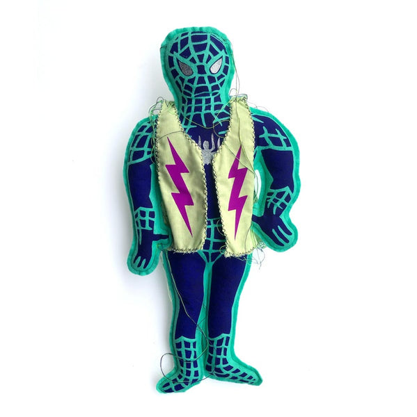 CUPCO RAG DOLL SPIDERMAN