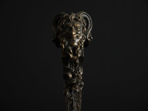 Part of an antique door knocker