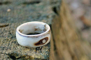 Ancient Secrets Bentwood Handcrafted Wedding Ring | Grooves