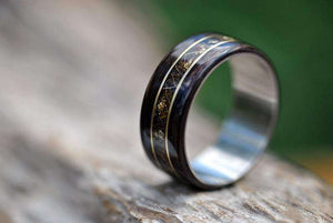 Wedding rings, Handmade wedding rings, Handmade wooden rings, Wooden rings for men, Wooden rings nz, Wooden jewellery, Wooden rings, Mens rings nz, Mens rings, Eco Friendly Rings, Rings nz, Made in NZ, Custom wedding rings, Engagement rings nz, Handmade engagement rings, Mens engagement rings, Natural rings, Natural jewellery, NZ jewllery, Eco-jewellery, NZ rings, wedding ideas, weddings ideas nz, anniversry gifts, gifts for him, gifts for her, NZ gifts, Sterling silver rings, Titanium rings