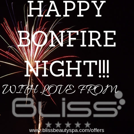 happy bonfire night from bliss beauty spa leeds