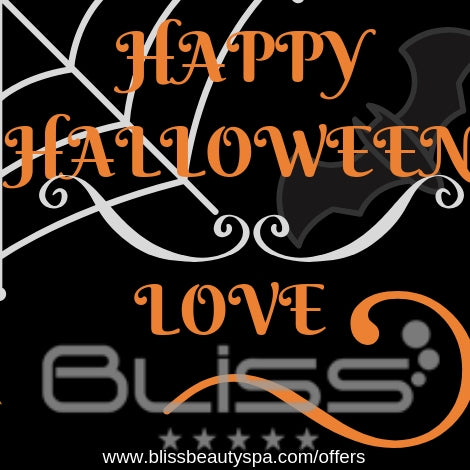 halloween at bliss beauty spa leeds