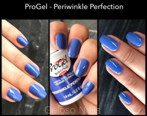 blue progel polish