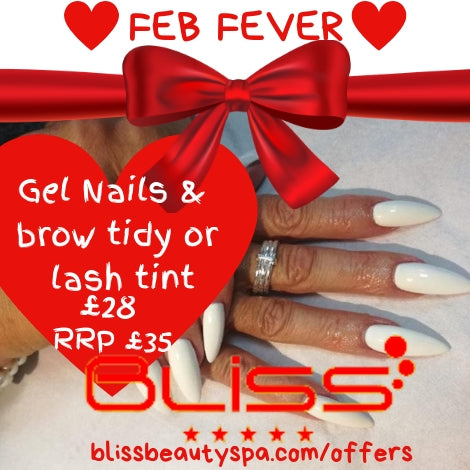 gel nails and brow tidy