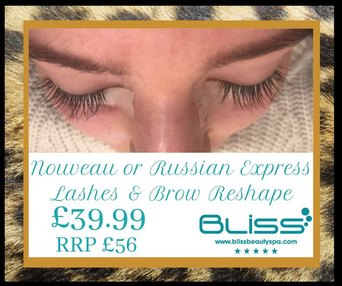 nouveau and russian lashes leeds