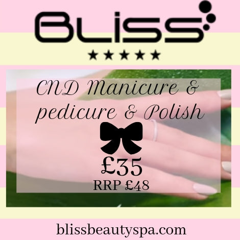 cnd manicure and pedicure