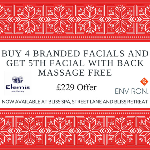 facial offer at bliss