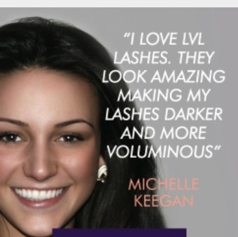 michelle keegan lvl lashes