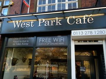 west park cafe, west park, leeds