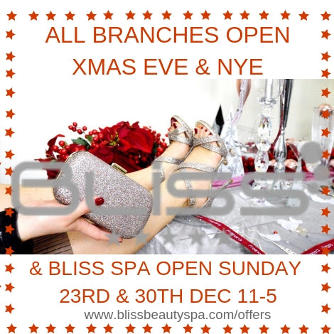 christmas beauty at bliss spa, leeds