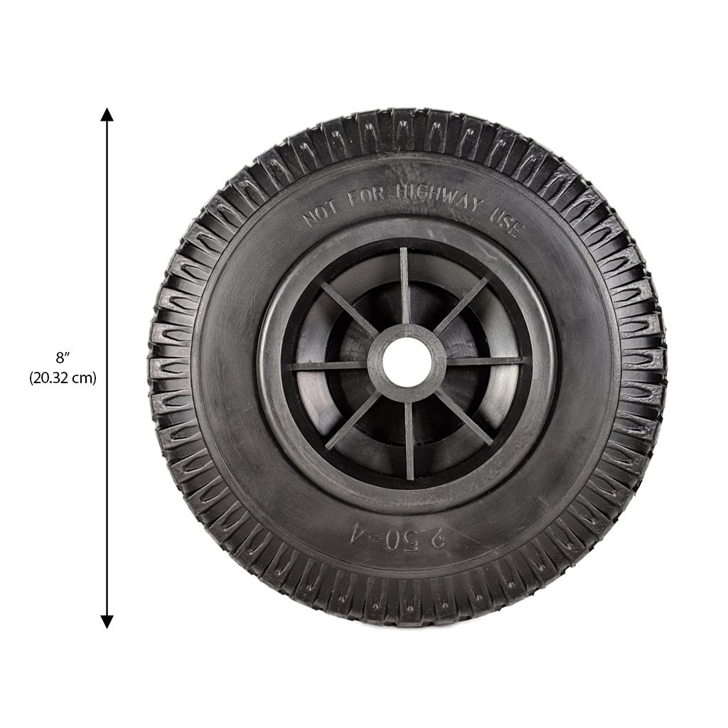 Replacement All-Terrain Foam Tire - 8