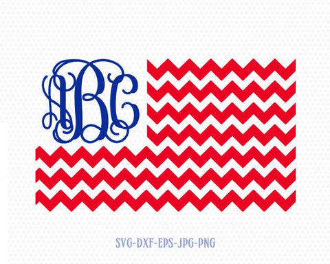 USA chevron flag svg, American usa Flag SVG, 4th of July Svg, Patriotic SVG, America Svg, Cricut, Silhouette Cut File, svg dxf eps