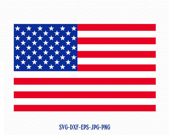 usa flag svg, American usa Flag SVG,Fourth of July SVG, 4th of July Svg, Patriotic SVG, America Svg, Cricut, Silhouette Cut File, svg dxf