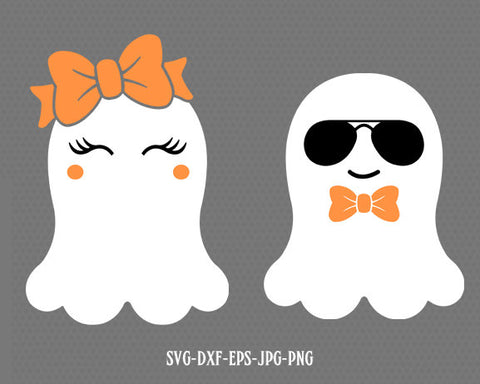 Ghost svg, cute ghost svg, cool ghost svg, Boo Svg, Bootiful SVG, halloween svg ,CriCut Files svg jpg png dxf Silhouette cameo