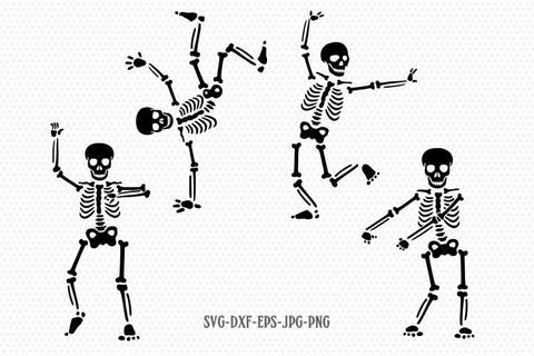 skeleton funny dance SVG, skeleton SVG, halloween skeleton flossing svg, halloween svg, CriCut Files svg jpg png dxf Silhouette cameo
