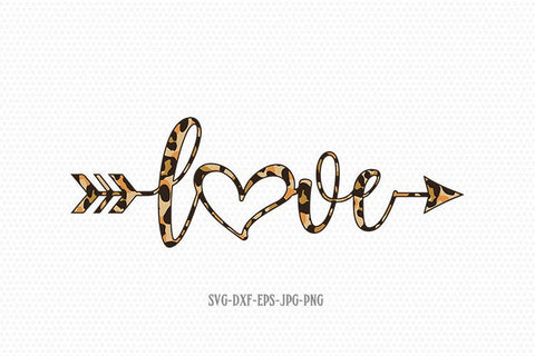Love arrow svg, cheetah svg, valentines day svg, Love svg, valentine svg, valentines svg, svg for CriCut silhouette, svg jpg png dxf