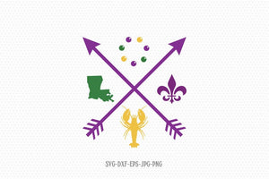 mardi gras love svg, mardi gras svg, happy mardi gras, mardi gras Crawfish svg, Louisiana Mardi Gras svg, Files svg jpg png dxf Silhouette