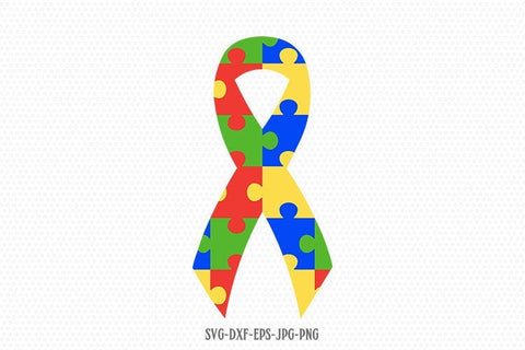 Autism Awareness Ribbon svg, Autism svg, Autism Puzzle svg, autism Awareness svg, svg Files for Cricut Silhouette svg jpg png dxf