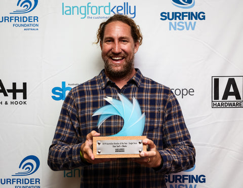 Star Surf + Skate wins 2019 SBIA retailer of the year award Ian Wooly Macpherson