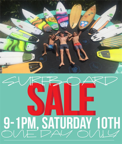 One Day Surfboard Sale 10th November 2018 Star Surf + Skate Mandurah
