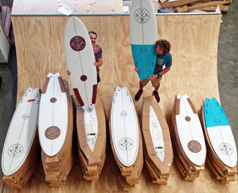 Wooly surfboards